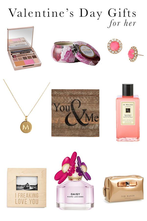 Valentine'S Day Gift Ideas For Her  Valentine s Day Gift Ideas For Her Michaela Noelle Designs