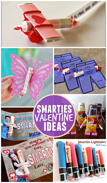 Valentine'S Day Gift Ideas For Kids  Valentine Ideas for Kids Using Smarties Candy Crafty