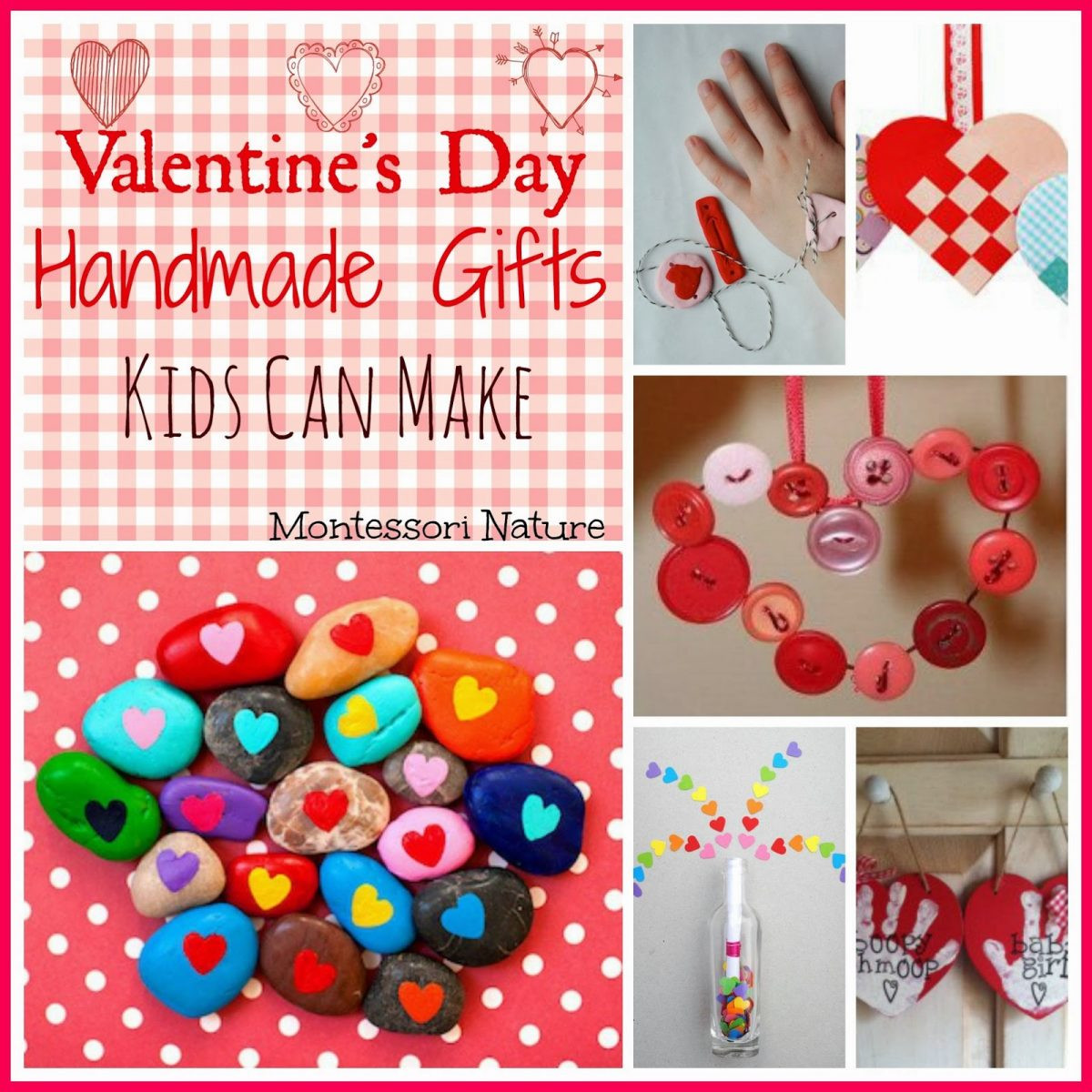 Valentine'S Day Gift Ideas For Kids  Valentine s Day Handmade Gifts Kids Can Make Montessori