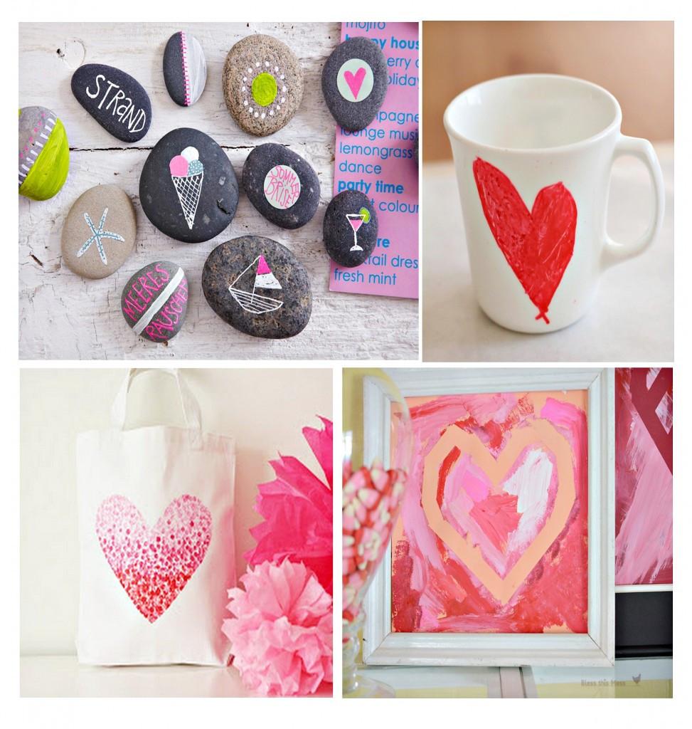 Valentine'S Day Gift Ideas For Kids  Fun Projects for Kids to Paint and Give as Gifts Paint It