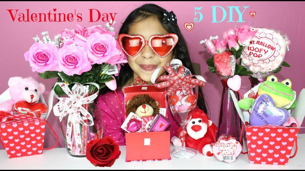 Valentine'S Day Gift Ideas For Kids  5 Valentine s Day DIY Gift Ideas
