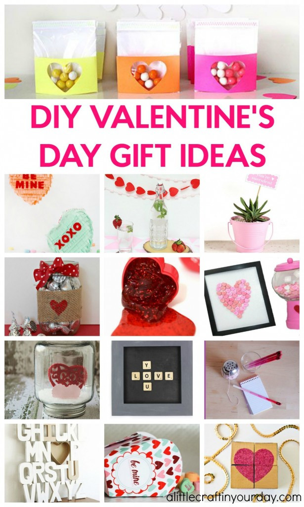 Valentine'S Day Gift Ideas For Kids  DIY Valentines Day Gift Ideas A Little Craft In Your Day