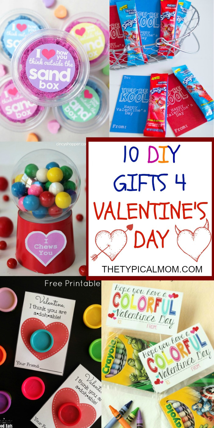 Valentine'S Day Gift Ideas For Kids  Valentine Treats for Kids · The Typical Mom