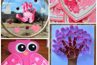 Valentines Craft Ideas for toddlers Beautiful Valentine S Day Handprint Craft & Card Ideas Crafty Morning