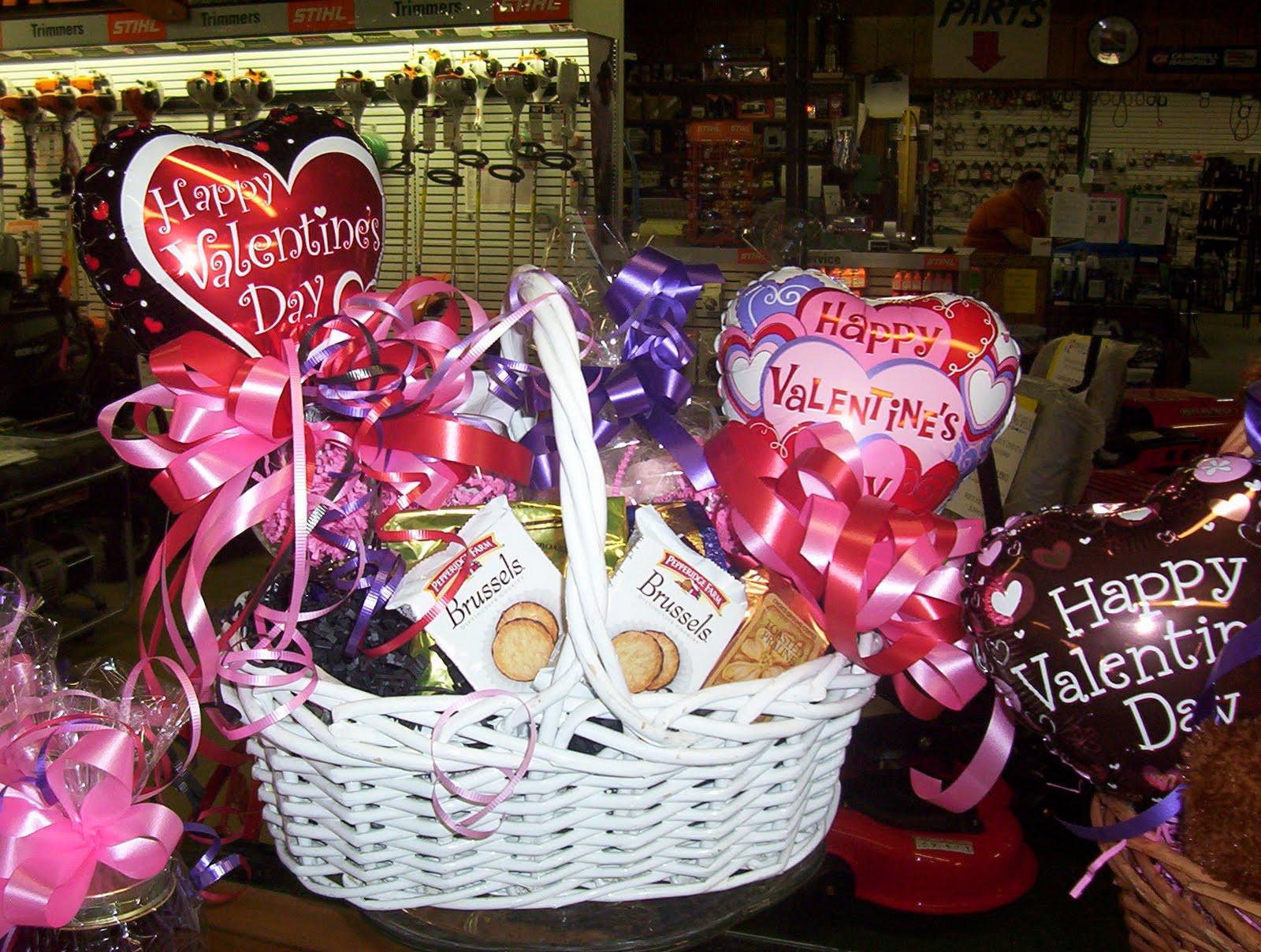 Valentines Day Gift Basket Ideas  Lanky s Gift Basket Shoppe VALENTINE BASKETS