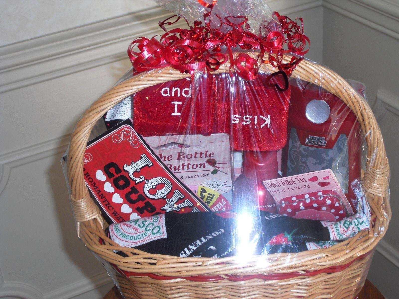 Valentines Day Gift Basket Ideas  Valentine Basket for Him