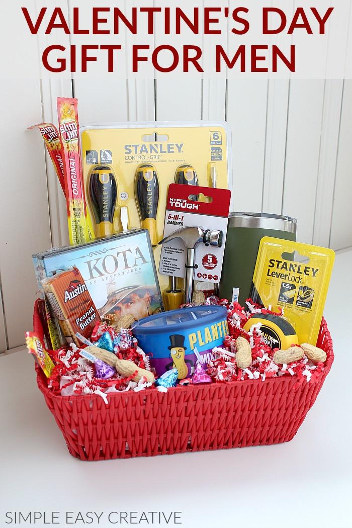 Valentines Day Gift Basket Ideas  Gift Basket for Men Hoosier Homemade