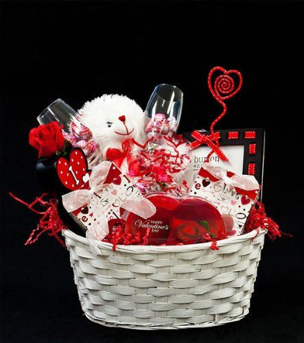 Valentines Day Gift Basket Ideas  Be My Valentine Valentine s Day Gift Basket for Men
