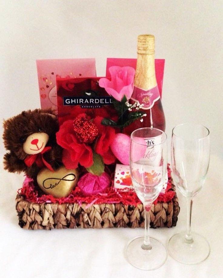Valentines Day Gift Basket Ideas  Best 25 Valentine baskets ideas on Pinterest