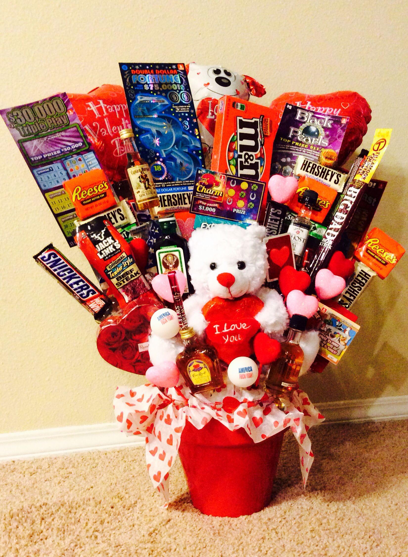 Valentines Day Gift Basket Ideas  Homemade Valentine S Day Gift Basket Ideas For Him