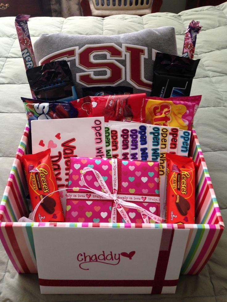 Valentines Day Gift Basket Ideas  17 Best ideas about Boyfriend Gift Basket on Pinterest