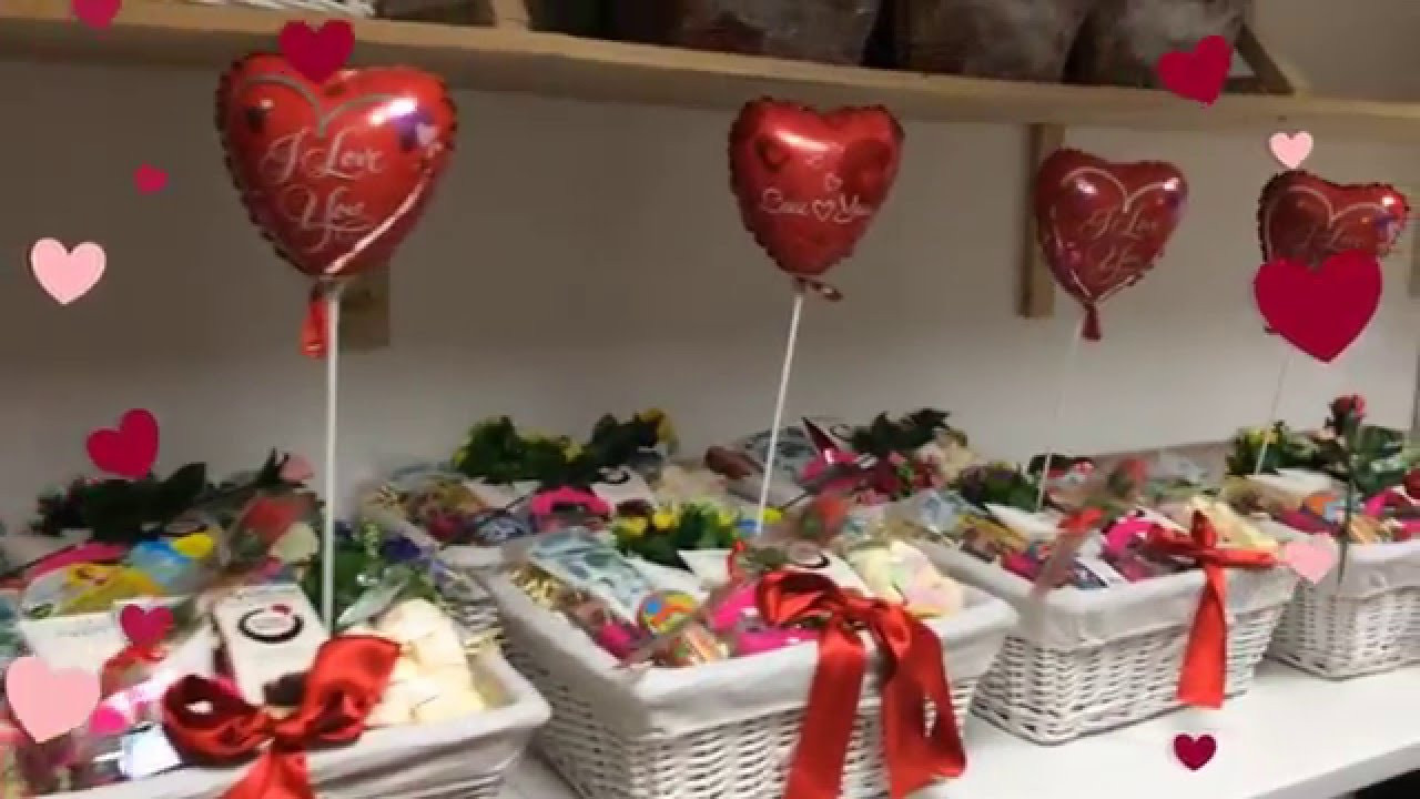 Valentines Day Gift Basket Ideas  Valentines Day 2016 Gift Basket Ideas
