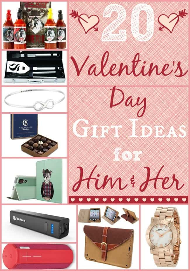 Valentines Gift Ideas For Him  20 Valentines Day Gift Ideas for Him and Her