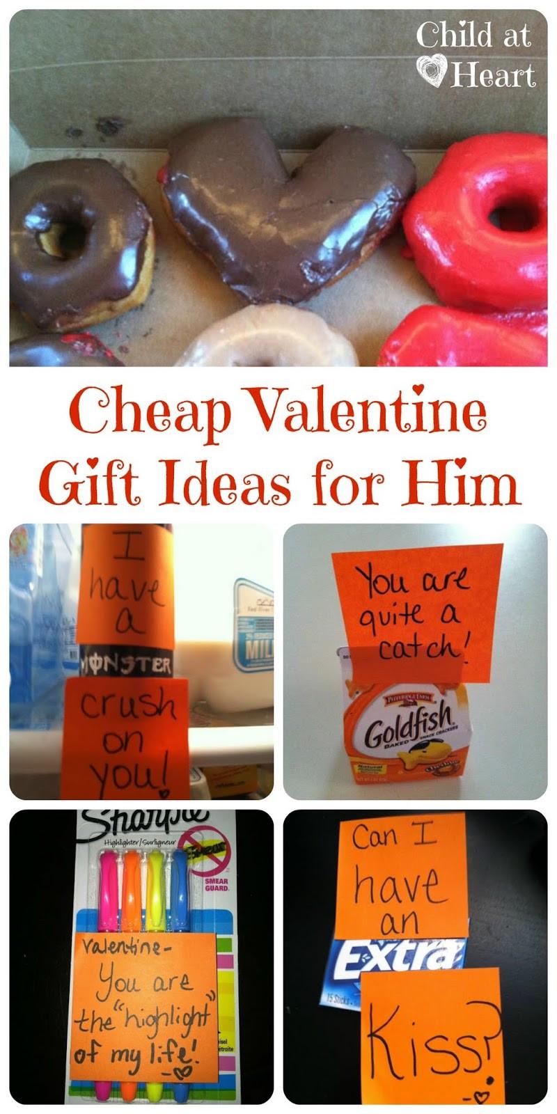 Valentines Gift Ideas For Him  Cheap Valentine Gift Ideas for Him Child at Heart Blog
