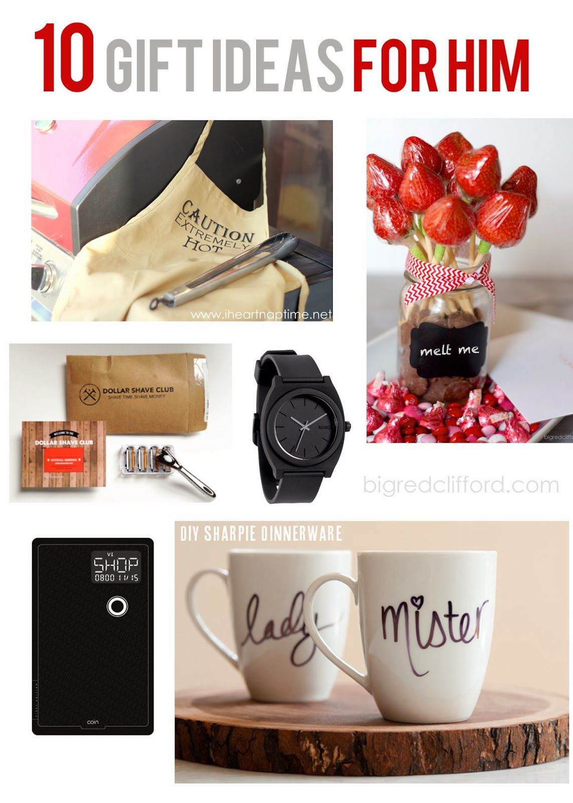 Valentines Gift Ideas For Him Homemade  valentines ideas for HIM DIY and quick grabs you