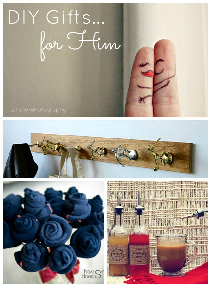 Valentines Gift Ideas For Him Homemade  DIY Valentine s Day Gifts for Him Made To Travel