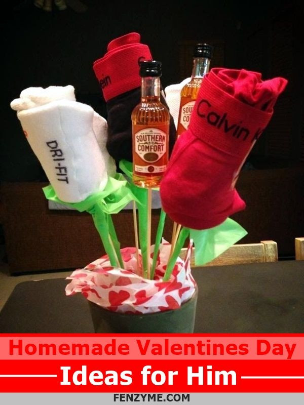 Valentines Gift Ideas For Him Homemade  Best 25 Homemade valentines ts for him ideas on