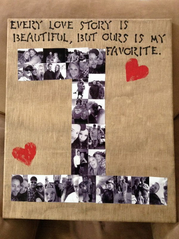Valentines Gift Ideas For Him Homemade  25 Romantic DIY Valentine s Gifts for Him 2017