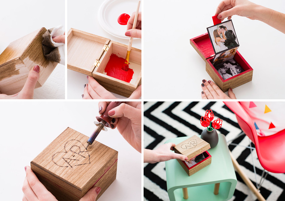 Valentines Gift Ideas For Him Homemade  14 DIY Valentine's Day Gifts for Him and Her