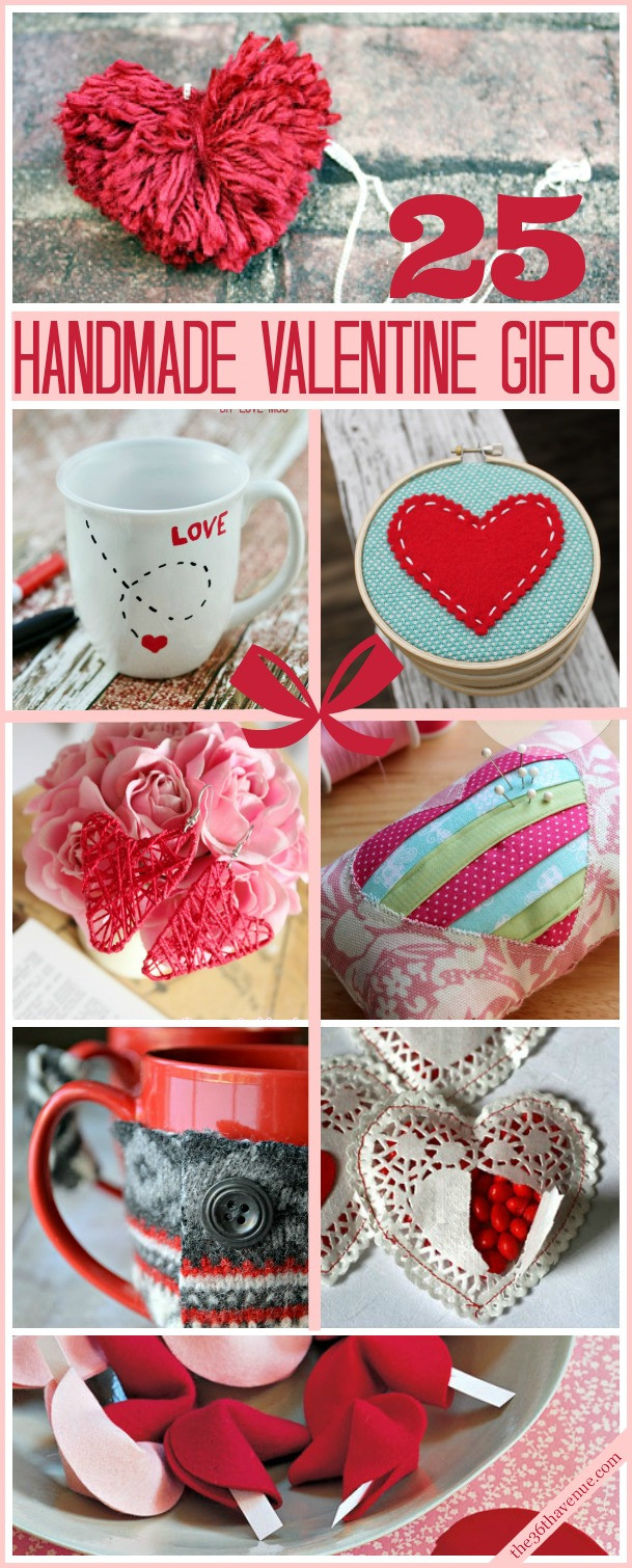 Valentines Gift Ideas For Him Homemade  Valentine Handmade Gifts and DIY Ideas The 36th AVENUE