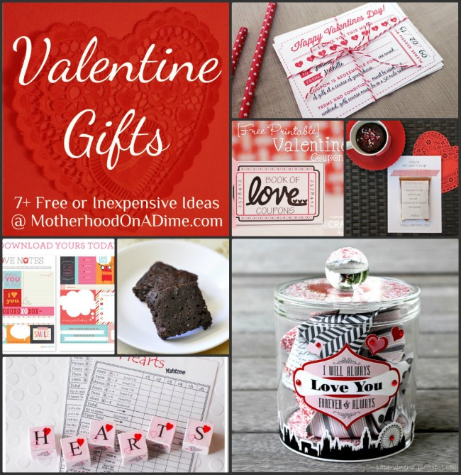 Valentines Gift Ideas For Him Homemade  Free & Inexpensive Homemade Valentine Gift Ideas Kids