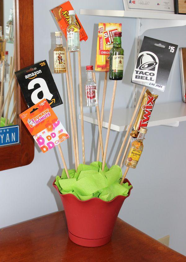 Valentines Guy Gift Ideas  DIY Valentine's Day Gift A Man Bouquet