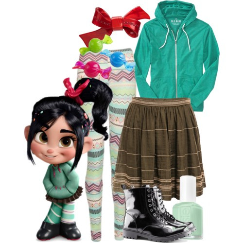 Vanellope Von Schweetz Costume DIY  10 Easy Halloween Costumes for Women