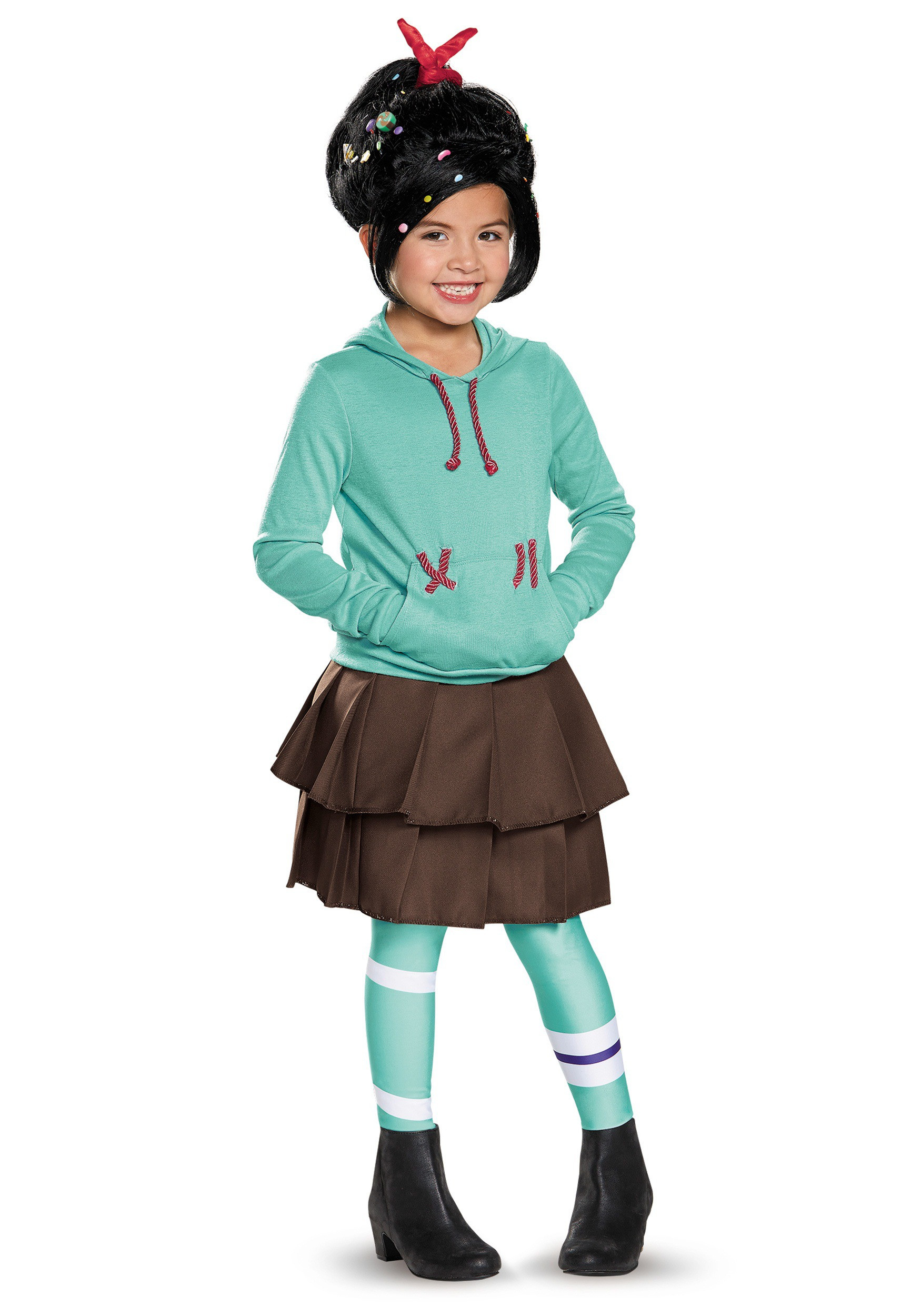 Vanellope Von Schweetz Costume DIY  Child Deluxe Vanellope Von Schweetz Costume