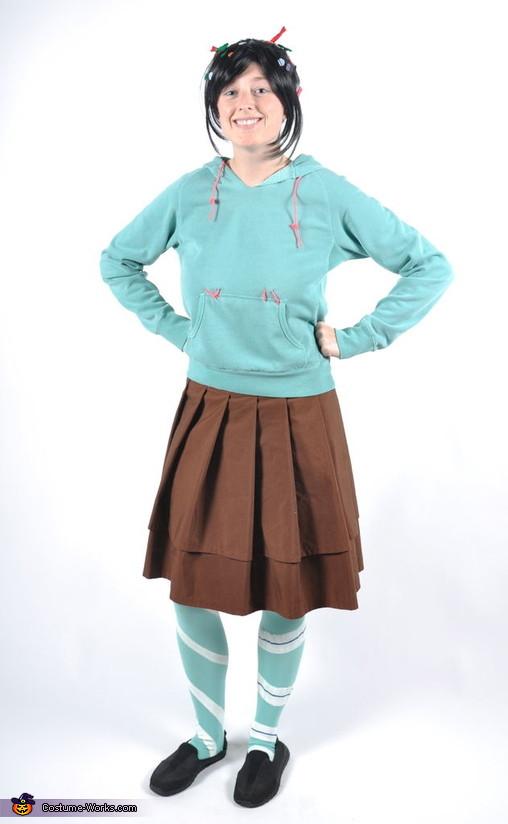 Vanellope Von Schweetz Costume DIY  Vanellope Von Schweetz Costume