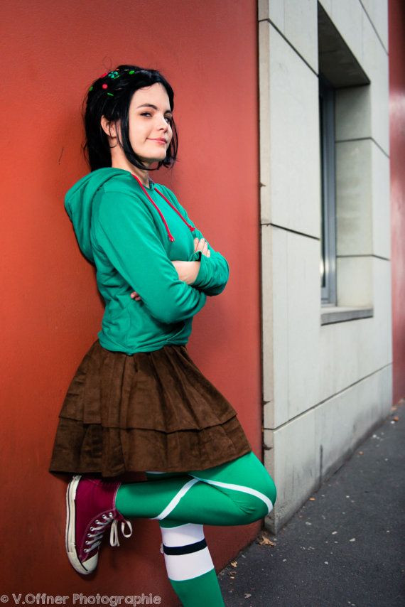 Vanellope Von Schweetz Costume DIY  1000 images about Top Halloween Costumes The Year on