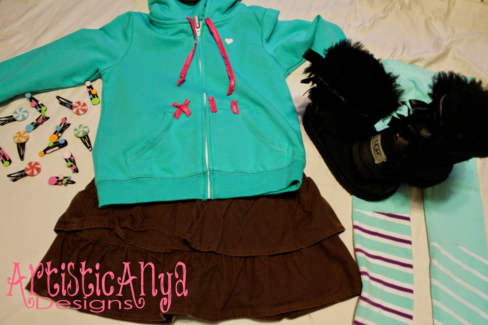 Vanellope Von Schweetz Costume DIY  Artistic Anya Designs DIY Vanellope and Fix It Felix Jr