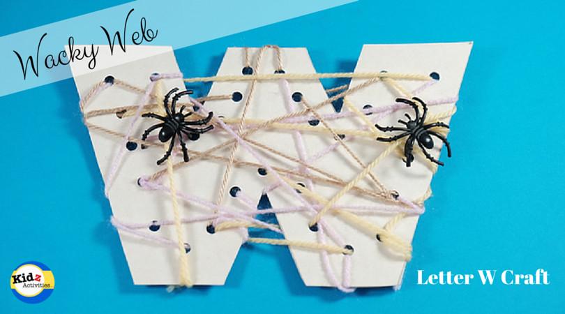 W Crafts For Preschool  Letter W Craft for Preschool Kidz Activities