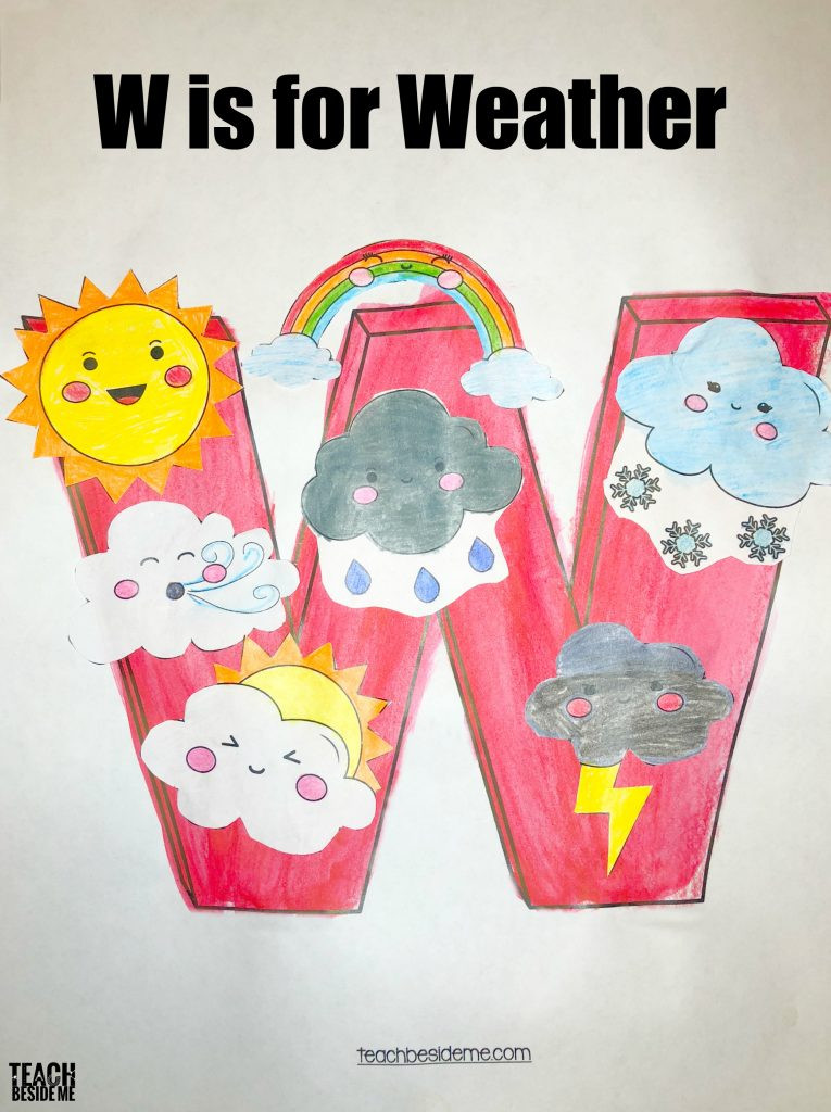 W Crafts For Preschool  Letter of the Week Preschool Letter W Activities Teach
