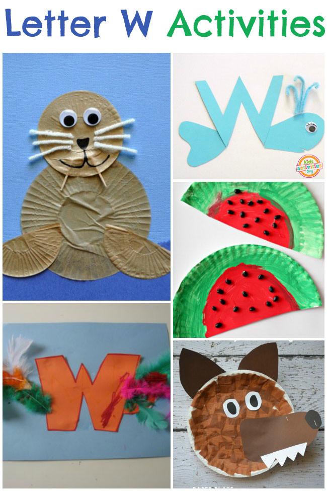 W Crafts For Preschool  13 Letter W Activities
