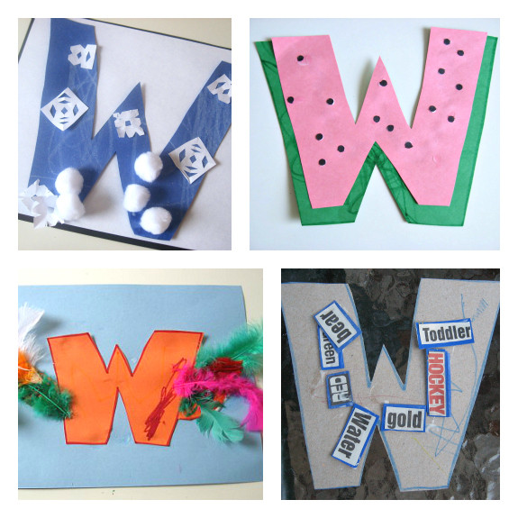 W Crafts For Preschool  Letter The Week W Crafts and Activities No Time For