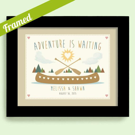 Wedding Gift Ideas For Outdoorsy Couple  Engagement Gift for Newlyweds Wedding Gift Outdoor Lovers