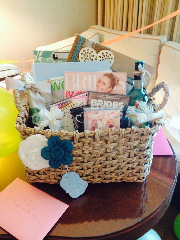Wedding Planning Gift Ideas  Wedding Planning Gift Basket