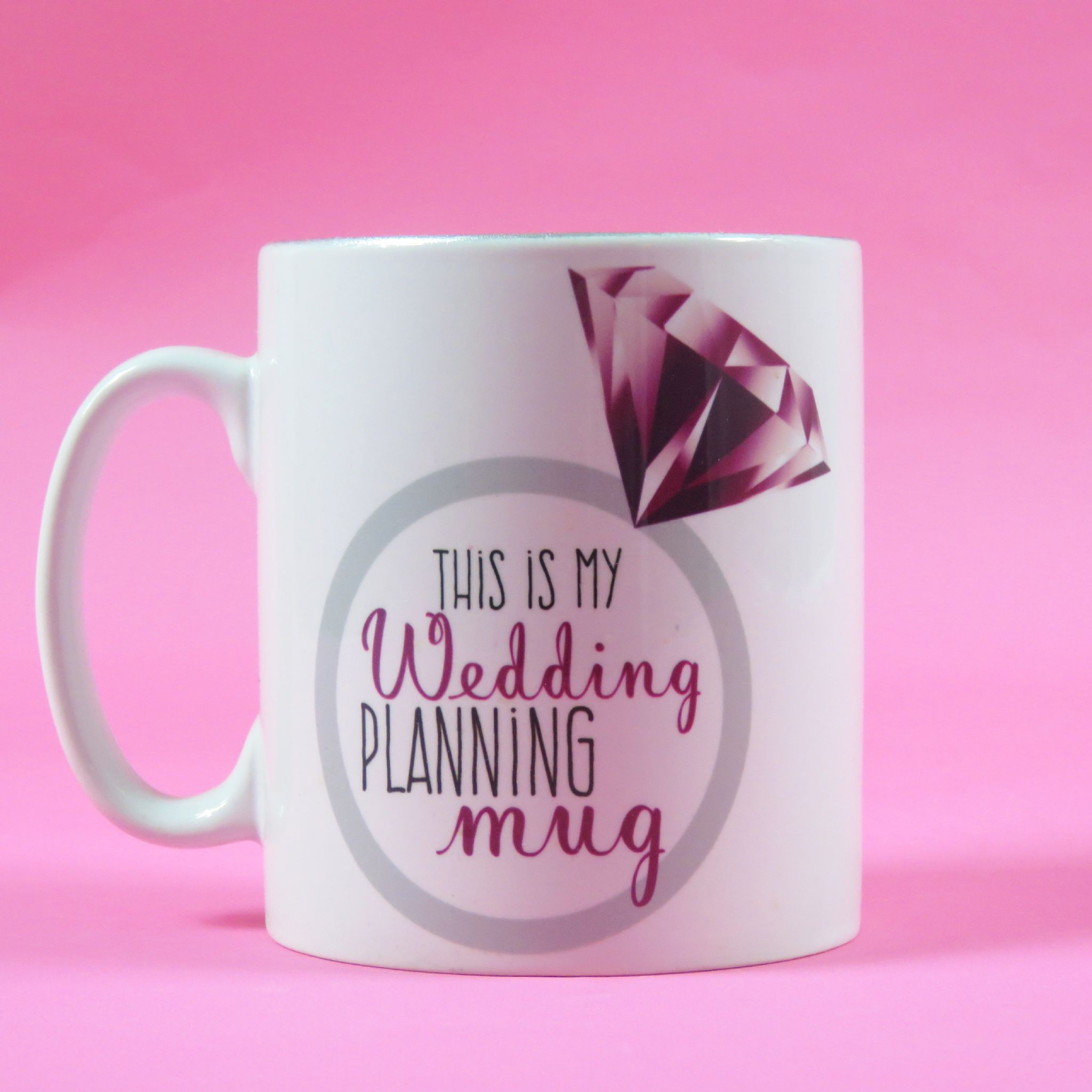 Wedding Planning Gift Ideas  Wedding planning mug wedding planner bride to be mug
