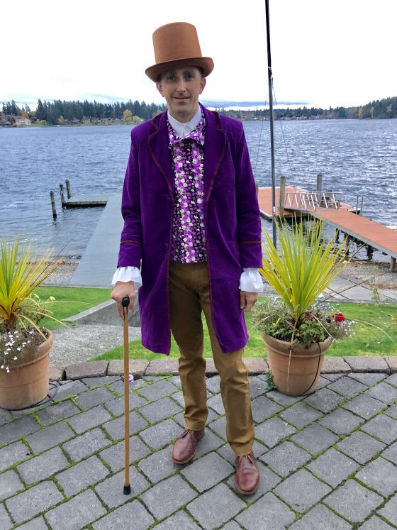 Willy Wonka Costume DIY  The Original Charlie and the Chocolate Factory DIY Family