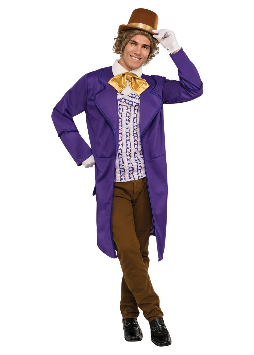 Willy Wonka Costume DIY  Willy Wonka Men Costume Movie Costumes