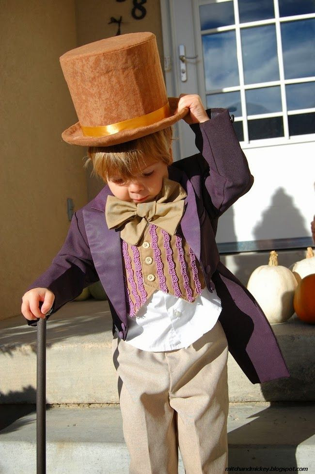 Willy Wonka Costume DIY  Cute Willy Wonka A Lovely Lark Even More DIY Halloween
