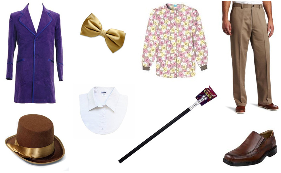 Willy Wonka Costume DIY  Willy Wonka Carbon Costume