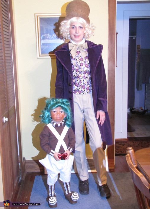 Willy Wonka Costume DIY  Oompa Loompa & Willy Wonka Costumes