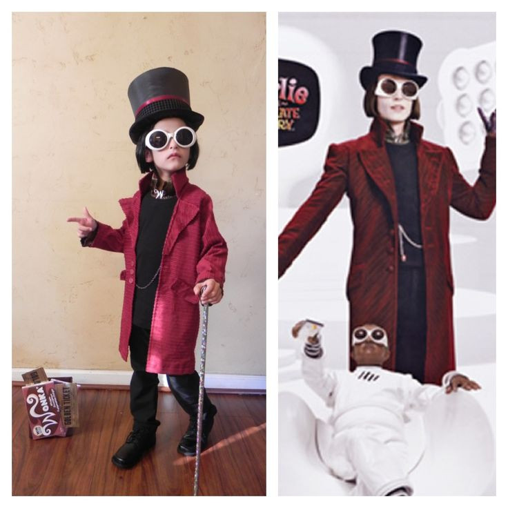 Willy Wonka Costume DIY  Pinterest • The world's catalog of ideas