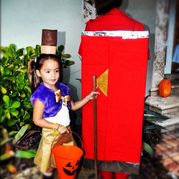 Willy Wonka Costume DIY  The Big Reveal The Harris Family Halloween Costume