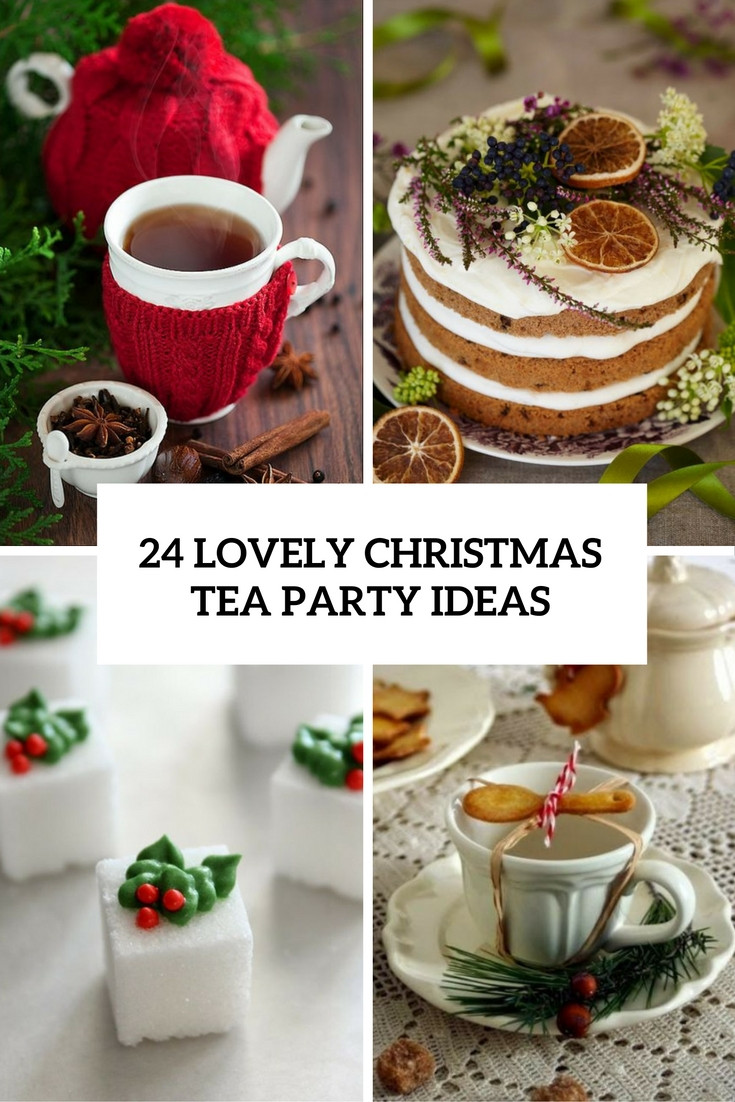 Women'S Tea Party Ideas  24 Lovely Christmas Tea Party Ideas Shelterness