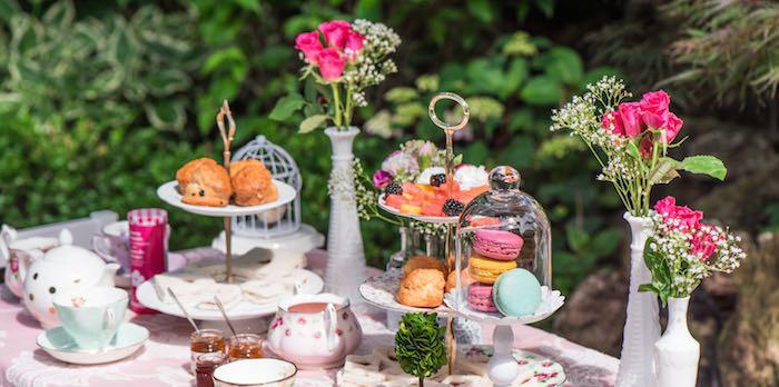 Women'S Tea Party Ideas  Kara s Party Ideas Outdoor High Tea Party