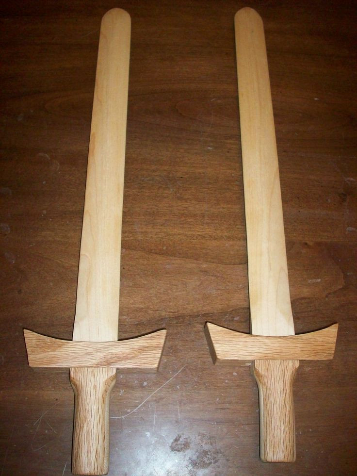 Wood Craft Ideas  Making a Wooden Sword Putting it all to her