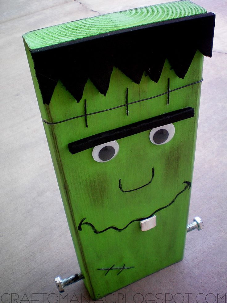 Wood Craft Ideas  Halloween Wood Craft Projects WoodWorking Projects & Plans