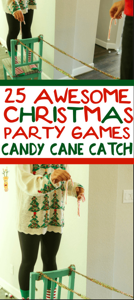 Work Holiday Party Game Ideas  25 Hilarious Minute to Win It Christmas Games for Kids and